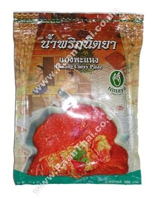Panang Curry Paste 500g - NITTAYA