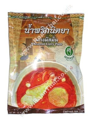 Massaman Curry Paste 500g - NITTAYA