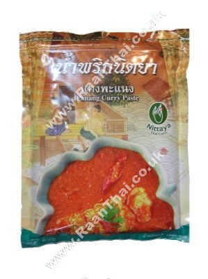 Panang Curry Paste 1kg - NITTAYA