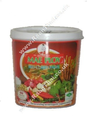 Red Curry Paste 400g - MAE PLOY