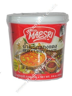 Red Curry Paste 400g - MAE SRI
