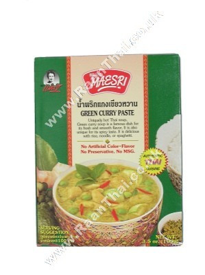 Green Curry Paste 100g - MAE SRI