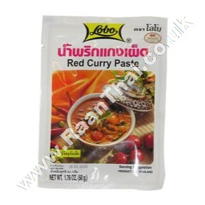 Red Curry Paste - LOBO