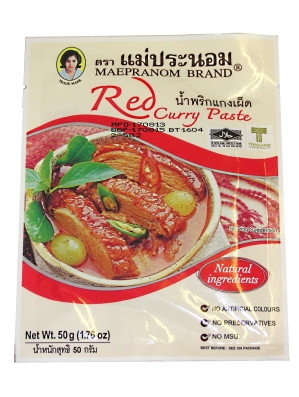 Red Curry Paste 50g - MAE PRANOM
