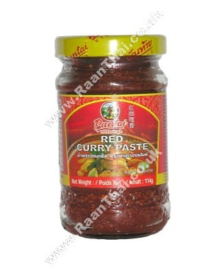 Red Curry Paste 114g - PANTAI