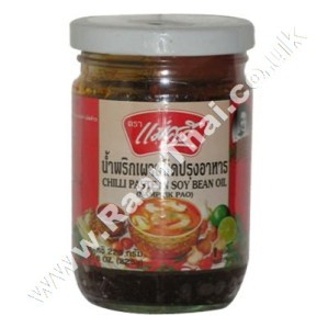 Chilli Paste in Soy Bean Oil (!!!!Nam Prik Pao!!!!) MAE SRI