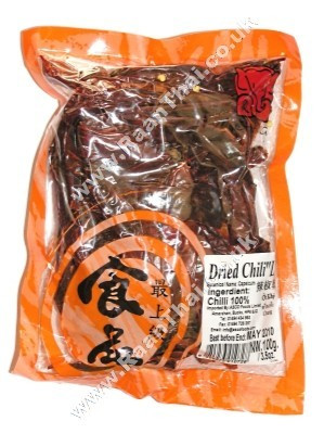 Dried Red Chilli (large) 100g - CHANG