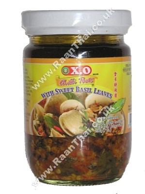 Chilli Paste with Sweet Basil Leaves - XO