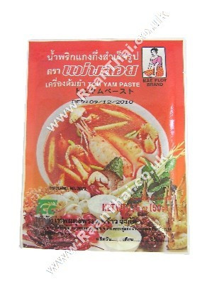 Tom Yum Paste 50g - MAE PLOY