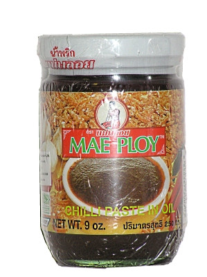 Chilli Paste in Oil 250g (jar) - MAE PLOY