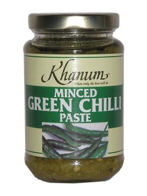 Minced Green Chilli Paste - KHANUM