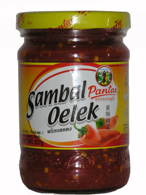 Red Chilli Paste (!!!!Sambal Oelek!!!!) - PANTAI