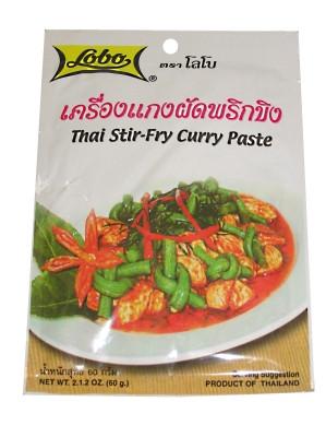 Thai Stir-Fry (!!!!Prik Khing!!!!) Curry Paste - LOBO