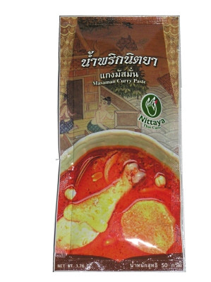 Massaman Curry Paste 50g - NITTAYA