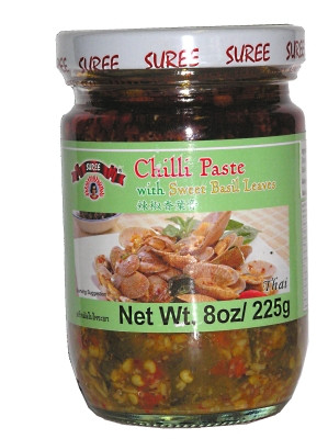 Chilli Paste with Sweet Basil Leaves - SUREE