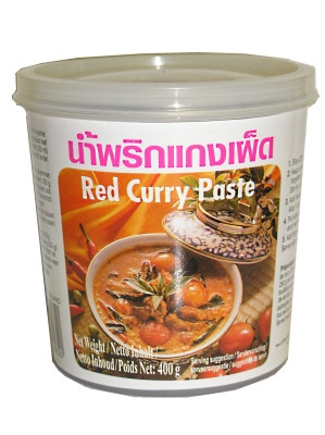 Red Curry Paste 400g - LOBO