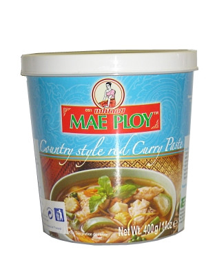 Country Style Red Curry Paste 400g - MAE PLOY