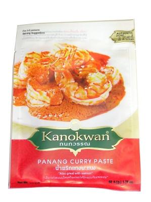 Panang Curry Paste 50g - KANOKWAN