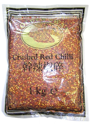 Crushed Red Chilli 1kg - KHANUM