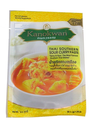 Thai Southern Sour Curry Paste - KANOKWAN