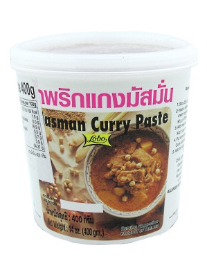 Massaman Curry Paste 400g - LOBO