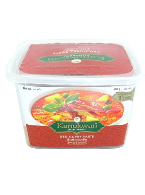 Red Curry Paste 400g - KANOKWAN