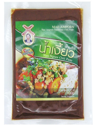 Nam Ngeaw Chilli Paste 100g - MAE AMPORN