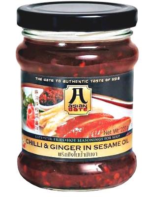 Chilli & Ginger in Sesame Oil - ASIAN GATE