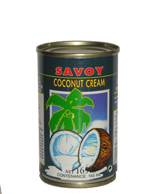 Coconut Cream 165ml - SAVOY
