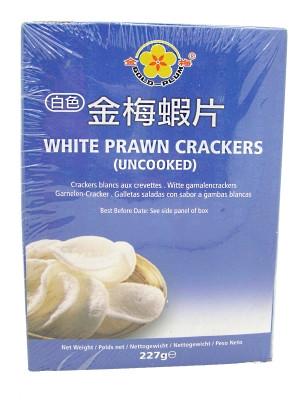 White Prawn Crackers (uncooked) 227g - GOLD PLUM