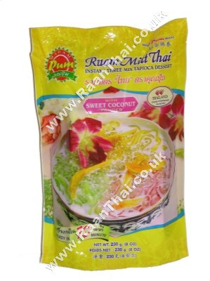 Instant Three Mix Tapioca Dessert - MADAM PUM