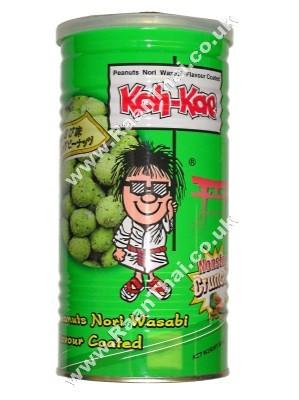 Coated Peanuts - Wasabi Flavour - KOH KAE