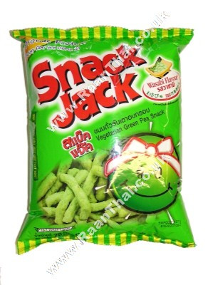 Green Pea Snack - Wasabi Flavour - SNACK JACK