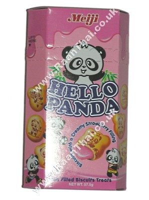 HELLO PANDA - Strawberry 50g - MEIJI