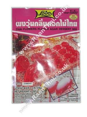 Agar Dessert Mix - Thai Flowers Flavour - LOBO