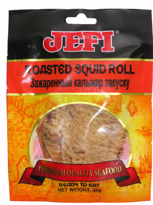 Roasted Squid Roll - JEFI