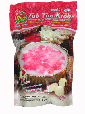 !!!!Tub Tim Krob!!!! (Water Chestnut with Tapioca) Dessert - MADAM PUM