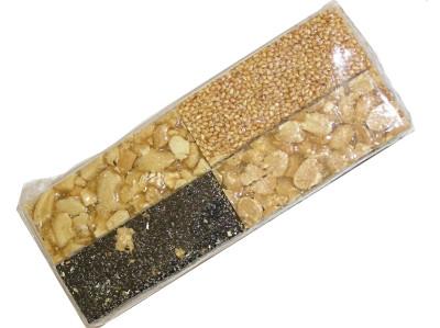 Assorted Cashew Nut, Peanut & Sesame Seed Crisp Slices - YEN NHUNG