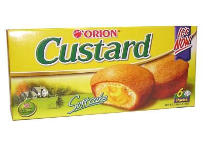 CUSTARD Soft Cake (6pcs) - ORION