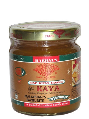 Coconut Spread (Kaya) 240g - HABHAL'S