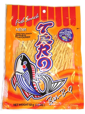 Fish Snack - BAR-B-Q Flavour 52g - TARO