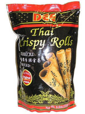 Thai Crispy Rolls (!!!!Thong Muan!!!!) - Original Flavour - DEE