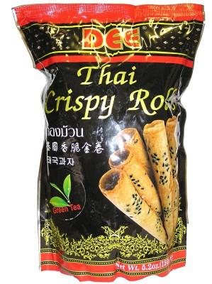 Thai Crispy Rolls (!!!!Thong Muan!!!!) - Green Tea Flavour - DEE