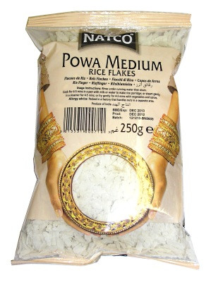 Powa Medium Rice Flakes - NATCO