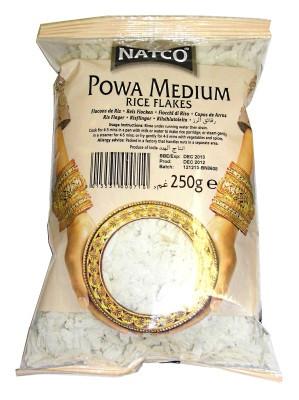 Powa Medium Rice Flakes - NATCO