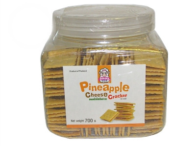 Pineapple Cheese Crackers 700g - DOLLY'S