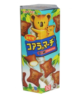 KOALA'S MARCH White Chocolate Cream Biscuit Snack - LOTTE