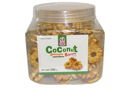 Coconut Pineapple Biscuits 500g - DOLLY'S