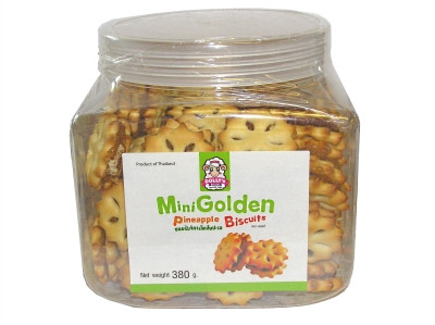 Mini Golden Pineapple Biscuits 380g - DOLLY'S