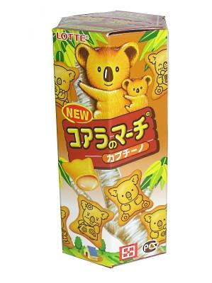 KOALA'S MARCH Cappuccino Cream Biscuit Snack - LOTTE